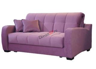 Современный раскладной диван с механизмом аккордеон и бельевым ящиком