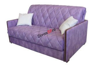 Диван-кровать с деревянным декором Гретта раскладывается вперед