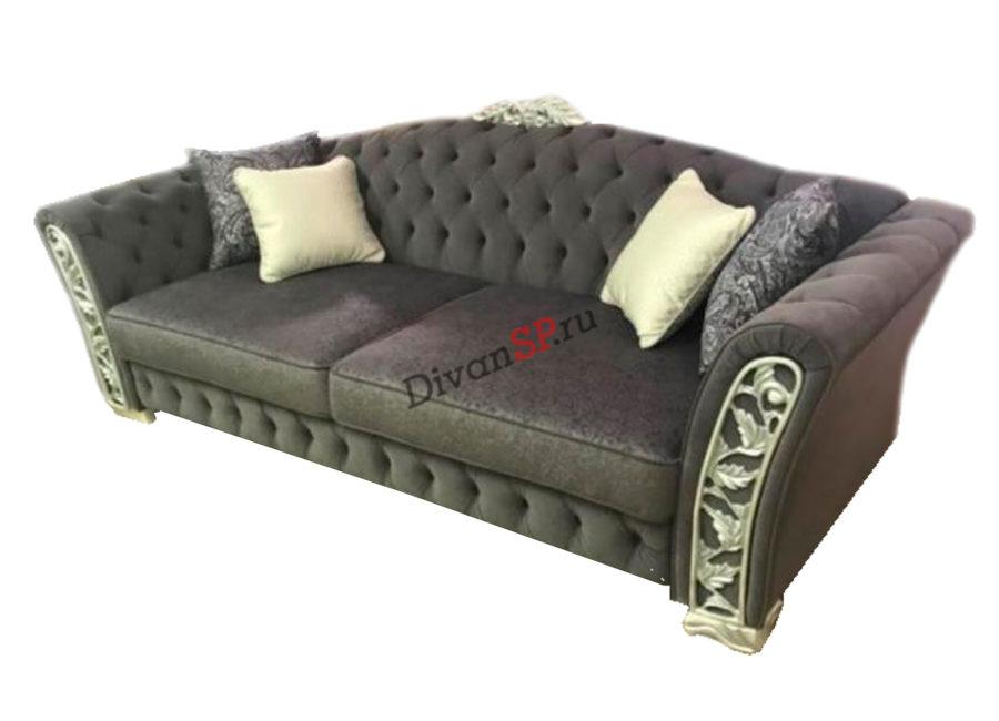 итальянский диван-кровать Турин коричневый