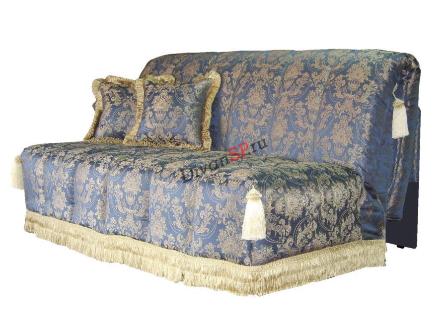 Современный качественный диван-аккордеон без подлокотников Амелия