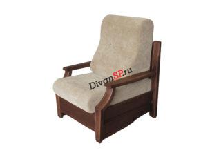 Мягкое кресло Мурано на деревянном каркасе бежевое