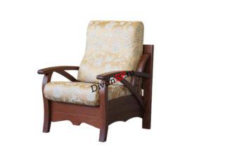 Мягкое классическое кресло Верес на деревянном каркасе
