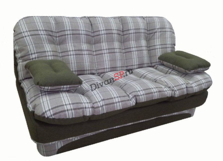 серый диван без каркаса Элис