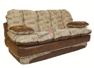 коричневый диван без каркаса Элис