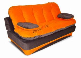 диван-кровать без каркаса Элис рыжий