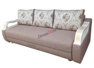 Раскладной диван с шагающим механизмом пантограф бежевый