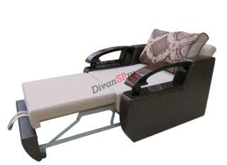 раскладное кресло-кровать Леонардо коричневое