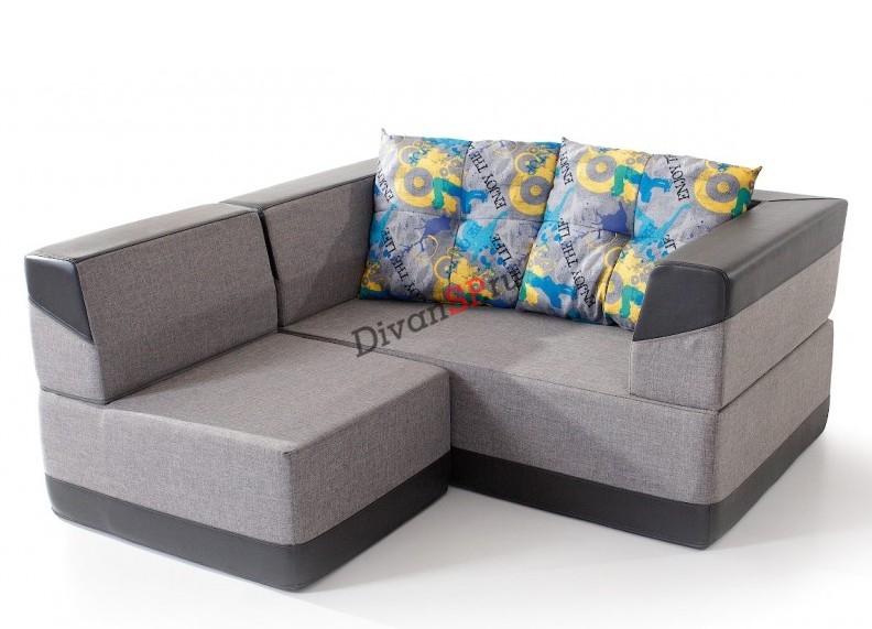 комплект мебели(диван и кресло) Кобо серый