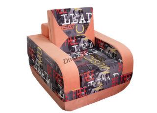Раскладное бескаркасное кресло регина цветное