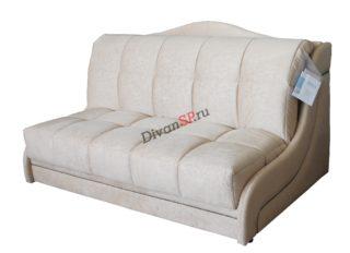 Бежевый диван аккордеон Дориан без подлокотников