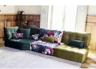 прямой модульный диван Домино