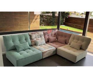 модульный диван Домино без подлокотников