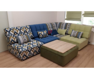 модульная ситема - угловой диван Домино цветной