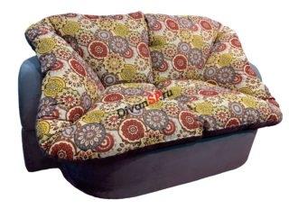 диван без каркаса Мишель цветной