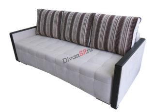 диван-кровать Рондо с шагающим механизмом пантограф серый