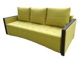 раскладной диван Рондр пантограф жёлтый