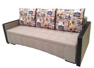 Раскладной диван-кровать Рондо с шагающим механизмом бежевый