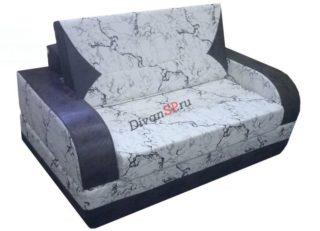 бескаркасный раскладной диван Регина синий