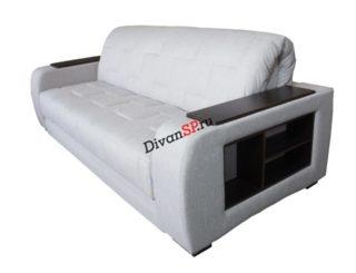 Современный диван-аккордеон с подлокотниками