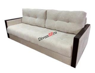 Белый диван Милано с механизмом тик-так (пантограф)
