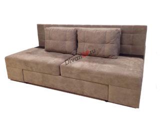Коричневый диван еврокнижка в Москве