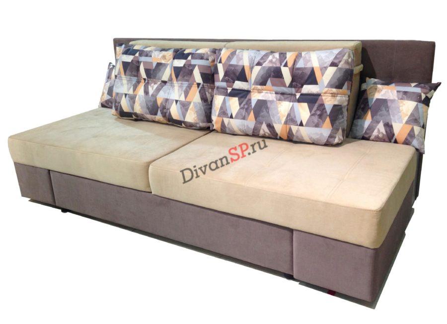 Диван-кровать Люкс - фиолетовая еврокнижка