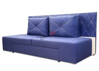 диван еврокнижка Люкс синий