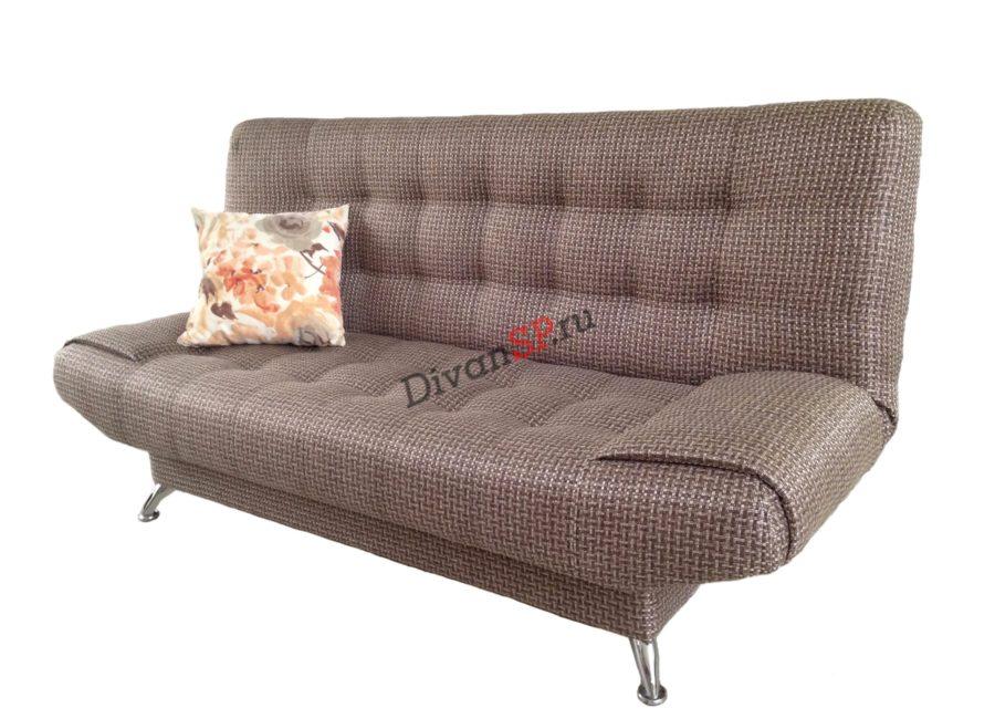 диван-кровать с механизмом книжка Катрин коричневый
