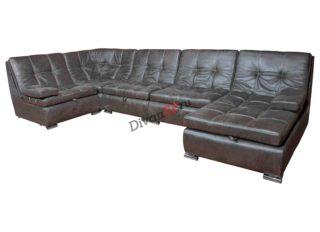 модульный П-образный диван со спальным местом Комфорт
