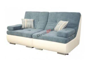 Прямой модульный диван-кровать Комфорт бирюзовый