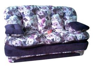 Мягкий бескаркасный диван Элис фиолетовый