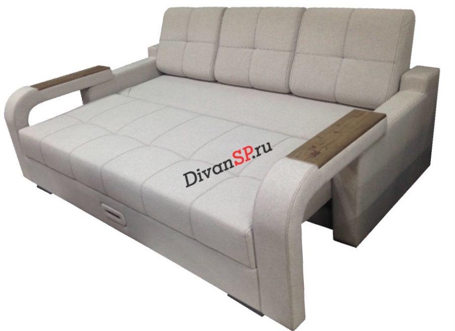 Диван-кровать с шагающим подлокотником Леонардо-06