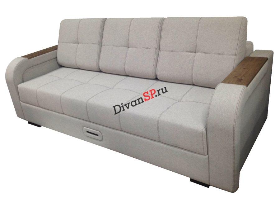 Ортопедический диван с шагающим подлокотником Леонардо-06